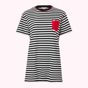 ポケット Macie Tシャツ ストライプ