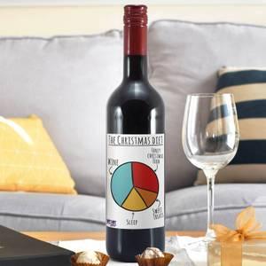 WotNot Creations 'Christmas Diet' Wine