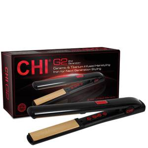 CHI G2 1 Inch Ceramic Titanium Infused Hairstyling Iron (Various Colours)
