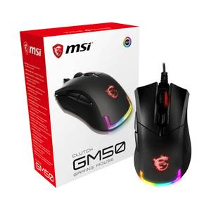 MSI Clutch GM50 RGB Optical FPS Gaming Mouse
