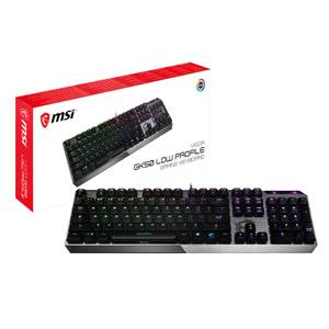 MSI Vigor GK50 LOW PROFILE Mechanical Gaming Keyboard UK Layout