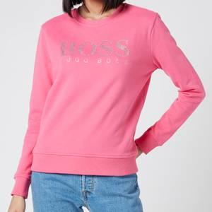 BOSS Women's Ebossa Sweatshirt - Bright Pink