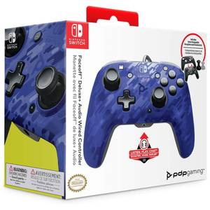 Nintendo Switch Control - Blue Camo
