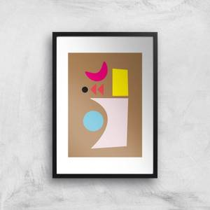 Abstract Shapes Giclee Art Print