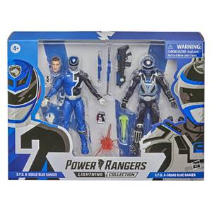 Hasbro Power Rangers Lightning Collection S.P.D. Squad B Blue Ranger Versus Squad A Blue Ranger 2er-Pack Actionfiguren