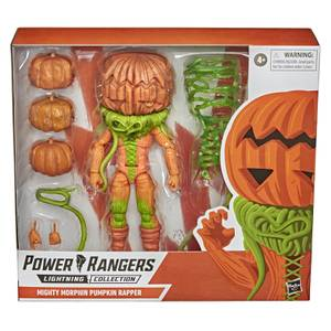 Hasbro Power Rangers Lightning Collection Monsters Mighty Morphin Pumpkin Rapper Action Figure