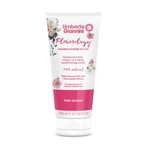 Umberto Giannini Flowerology Colour Mask - Pink Delight 195ml