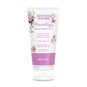 Umberto Giannini Flowerology Colour Mask - Sweet Violet 195ml
