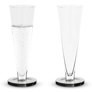 Tom Dixon Puck Flute Glass (Set of 2)