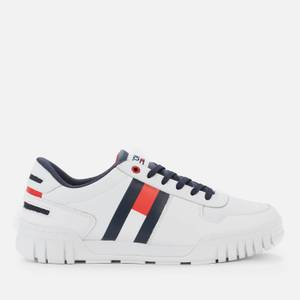 Tommy Jeans Men's Essential Cupsole Trainers - White