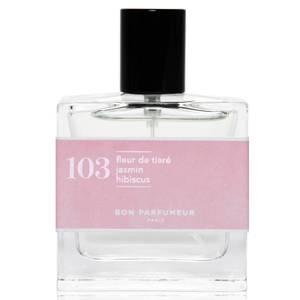 Bon Parfumeur 103 Tiare Flower Jasmine Hibiscus Eau de Parfum (Various Sizes)