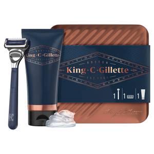 Gillette King C. Gillette Get Sharp Tin