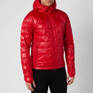 Canada Goose Men's Hybridge Lite Hooded Jacket - Red