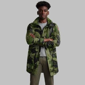Canada Goose Men's Crew Trench Coat - CG Camo