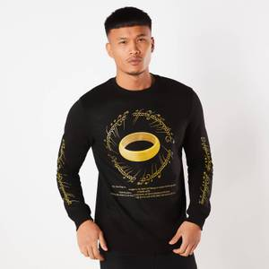 Lord Of The Rings The One Ring Sweatshirt - Black