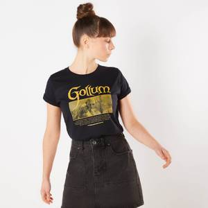 Lord Of The Rings Gollum Women's T-Shirt - Navy