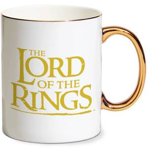 Lord Of The Rings One Ring Gold Handle Mug