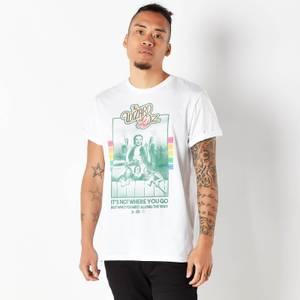 Le Magicien d'Oz Retro Cover T-Shirt Homme - Blanc