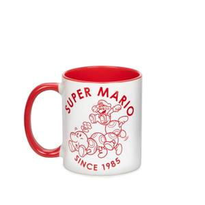 Nintendo Super Mario Contrast Mug - White/Red
