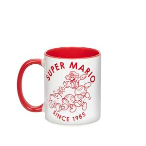 Taza Nintendo Super Mario - Blanco/Rojo