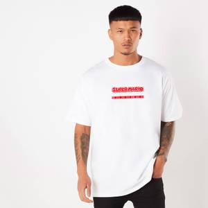 Nintendo Super Mario Oversized T-Shirt - White