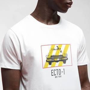 Ghostbusters Ecto-1 T-Shirt Homme - Blanc