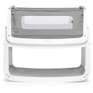 SnüzPod4 Bedside Crib - Dusk Grey