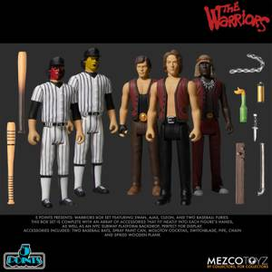 Mezco The Warriors 5 Points Deluxe Box Set