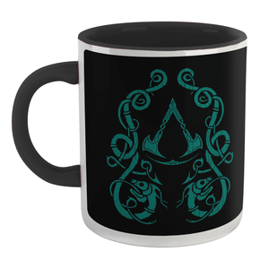 Assassins Creed Valhalla Mug - White/Black