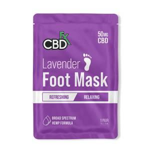 CBDfx Foot Mask - Lavendar