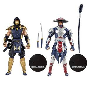 McFarlane Mortal Kombat 2Pk - Scorpion & Raiden Action Figure