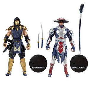 McFarlane Toys Mortal Kombat 2Pk - Scorpion & Raiden Action Figure
