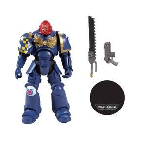"McFarlane Warhammer 40000 1 7"" Figures - Ultramarines Primaris Assault Intercessor Action Figure"