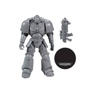 "McFarlane Warhammer 40000 1 7"" Figures - Space Marine ""AP"" Action Figure"