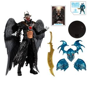 "McFarlane DC Multiverse Build-A 7"" Action Figure - Wv2 - Batman Who Laughs (Hawkman) Action Figure"