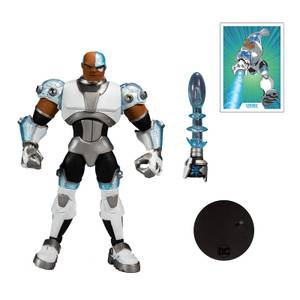 "McFarlane DC Multiverse Animated 7"" Action Figures - Wv2 - Animated Cyborg Action Figure"