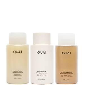 OUAI Medium Hair Detox Bundle