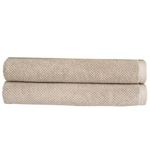 Christy Brixton Towel - Set of 2 - Pebble