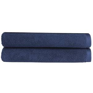 Christy Brixton Towel - Set of 2 - Midnight