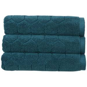 Christy Honeycomb Bath Sheet - Peacock