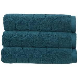 Christy Honeycomb Bath Sheet - Peacock