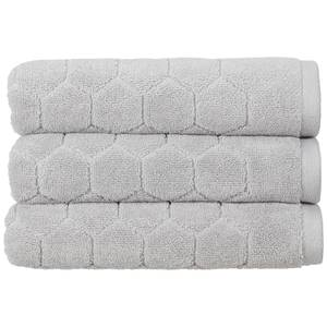 Christy Honeycomb Bath Sheet - Platinum