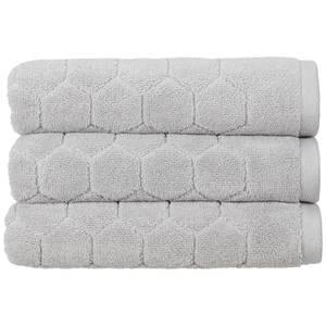 Christy Honeycomb Bath Sheet - Platinum