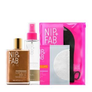 NIP+FAB Bronze + Glow Fix Regime (Worth £59.85)