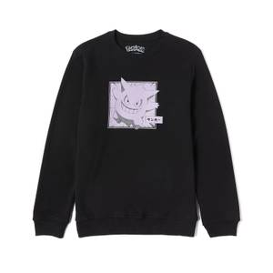 Pokémon Ectoplasma Sweatshirt - Noir