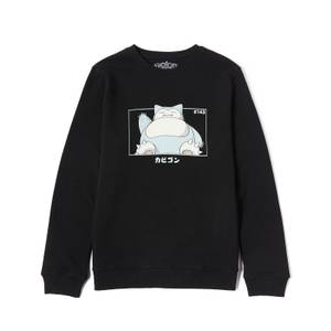 Pokémon Ronflex Sweatshirt - Noir