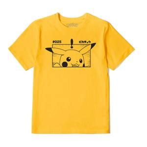 Pokémon Pikachu Unisexe T-Shirt - Jaune moutarde