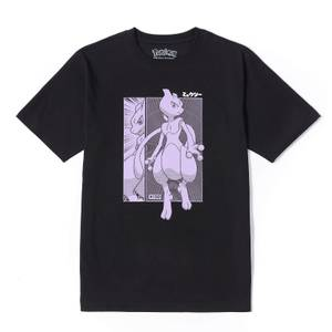 Pokémon Mewtwo Oversized Unisex Heavyweight T-Shirt - Schwarz