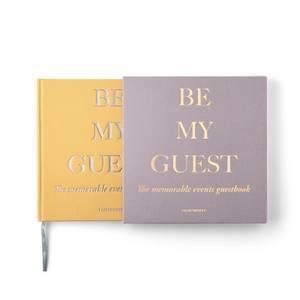 Printworks Guest Book - Beige/Yellow