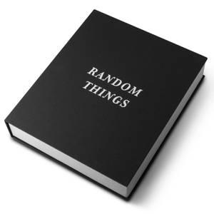 Printworks Random Things Storage Box - Black
